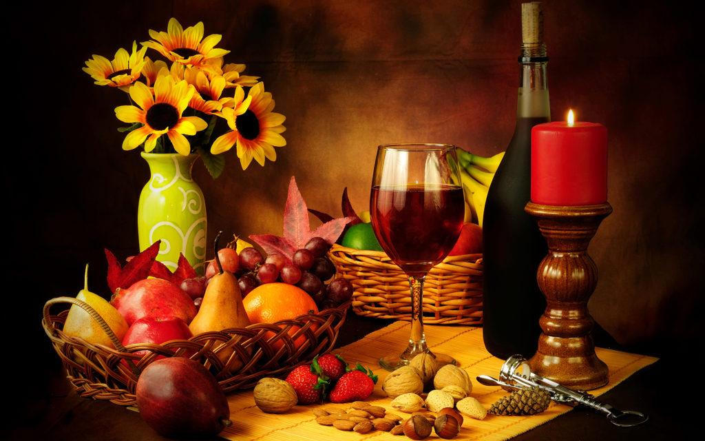 Rituales seguros con fresas y velas